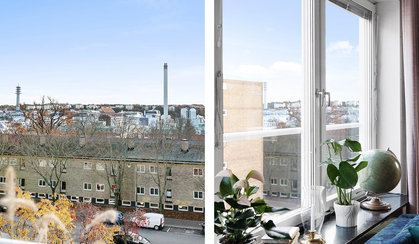 Bohusgatan 35, 5 tr - Fri utsikt högst upp i huset