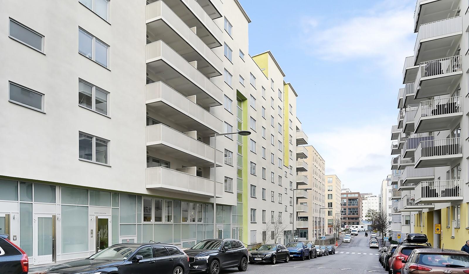 Marieviksgatan 40, 7 tr - Marieviksgatan.