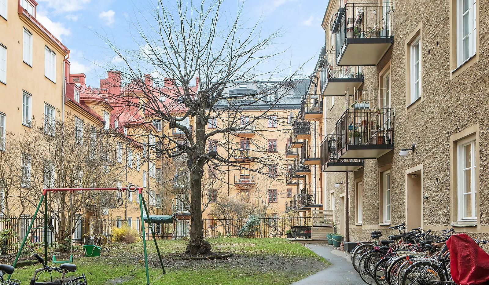 Högalidsgatan 36C, 3tr, ö.g. - Gårdsbild