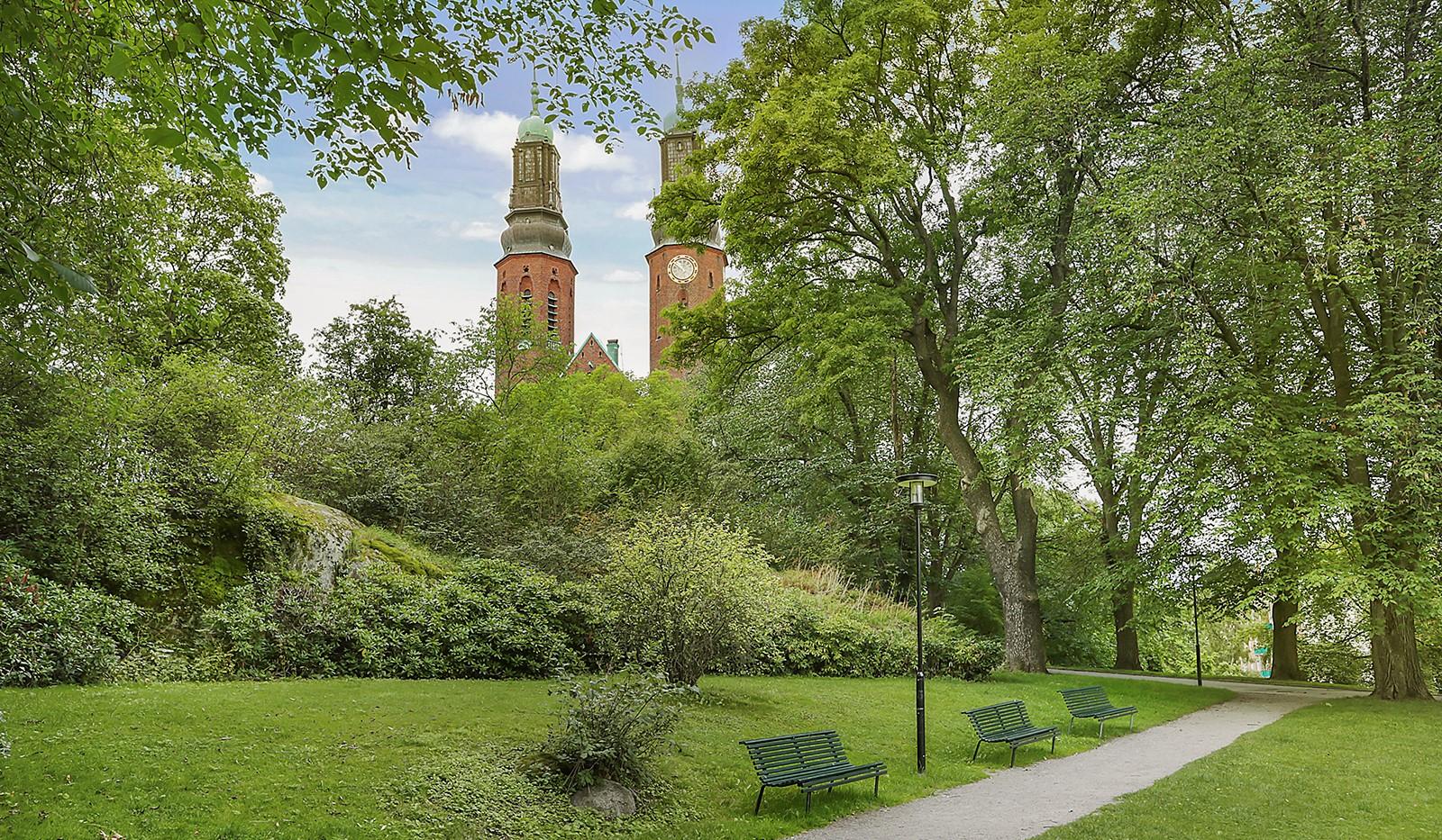 Högalidsgatan 36C, 3tr, ö.g. - Högalidsparken, en oas av grönska
