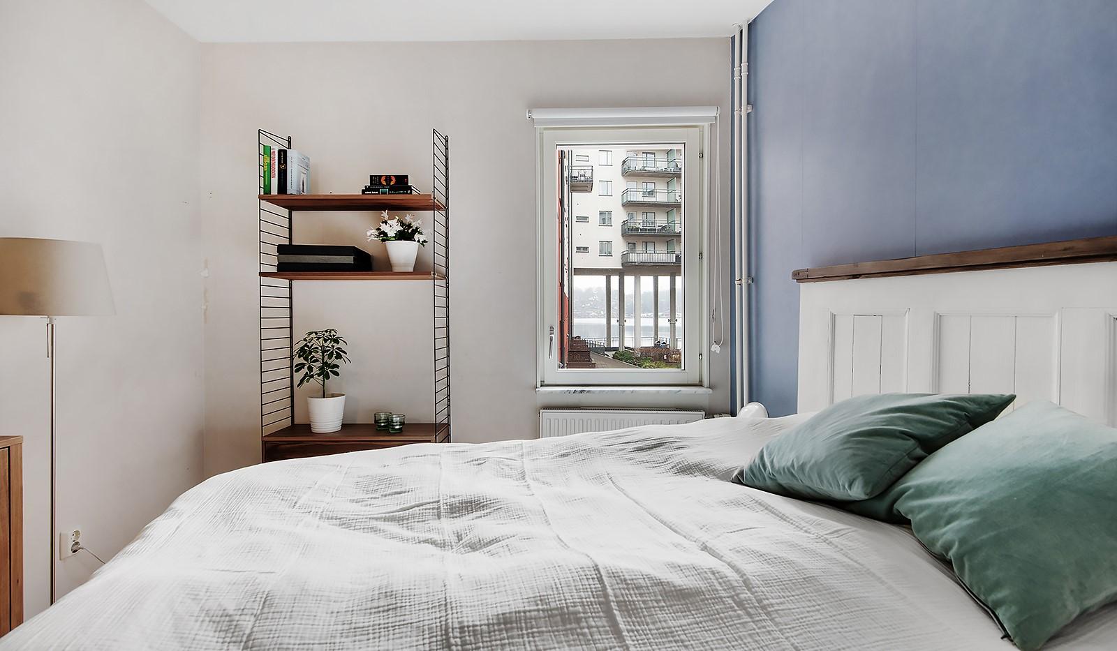 Vingårdsgatan 7 - Sovrum mot lugn innergård