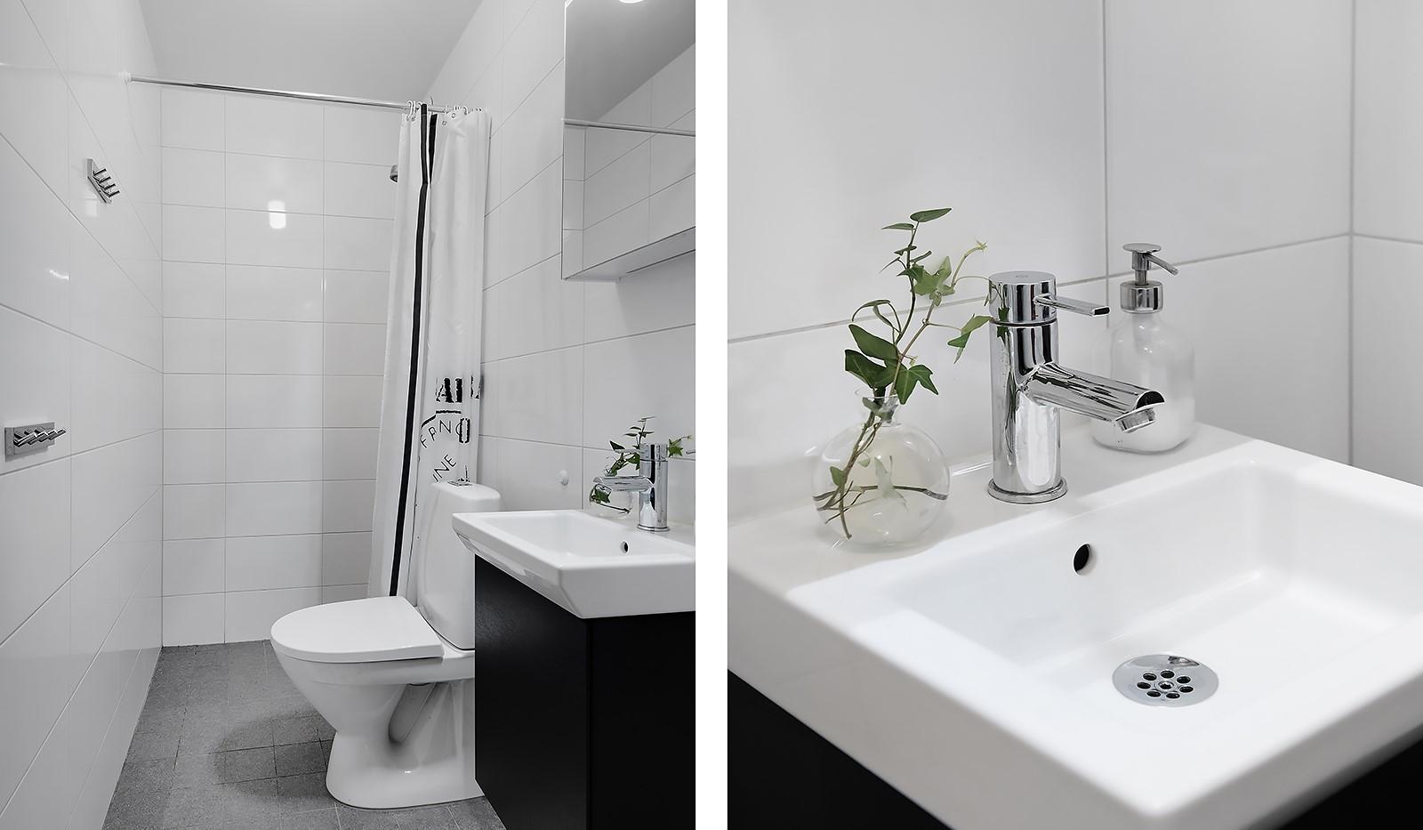 Årgångsgatan 5, 5 tr - Det mindre badrummet