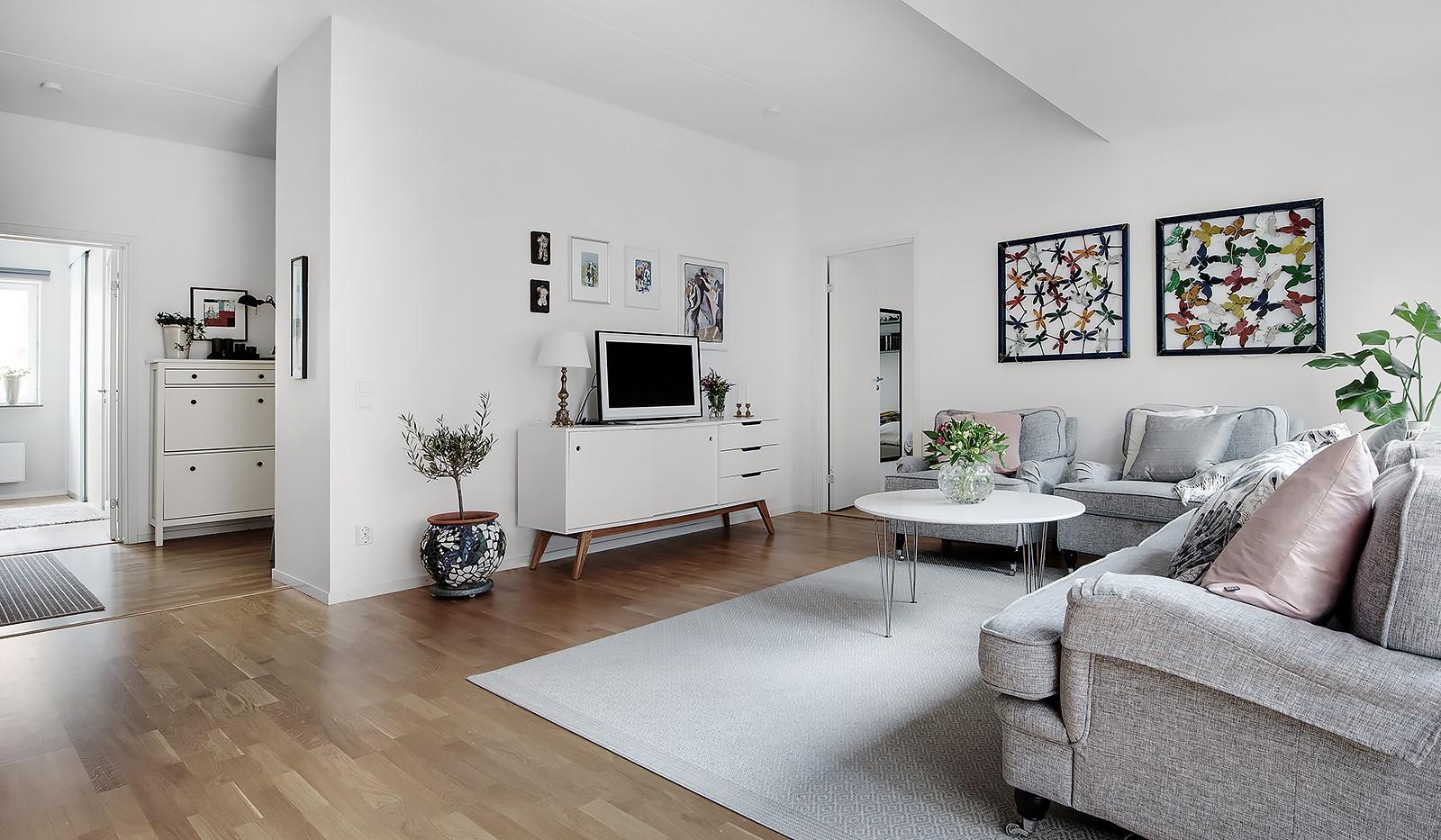 Årgångsgatan 5, 5 tr - Lättmöblerat vardagsrum