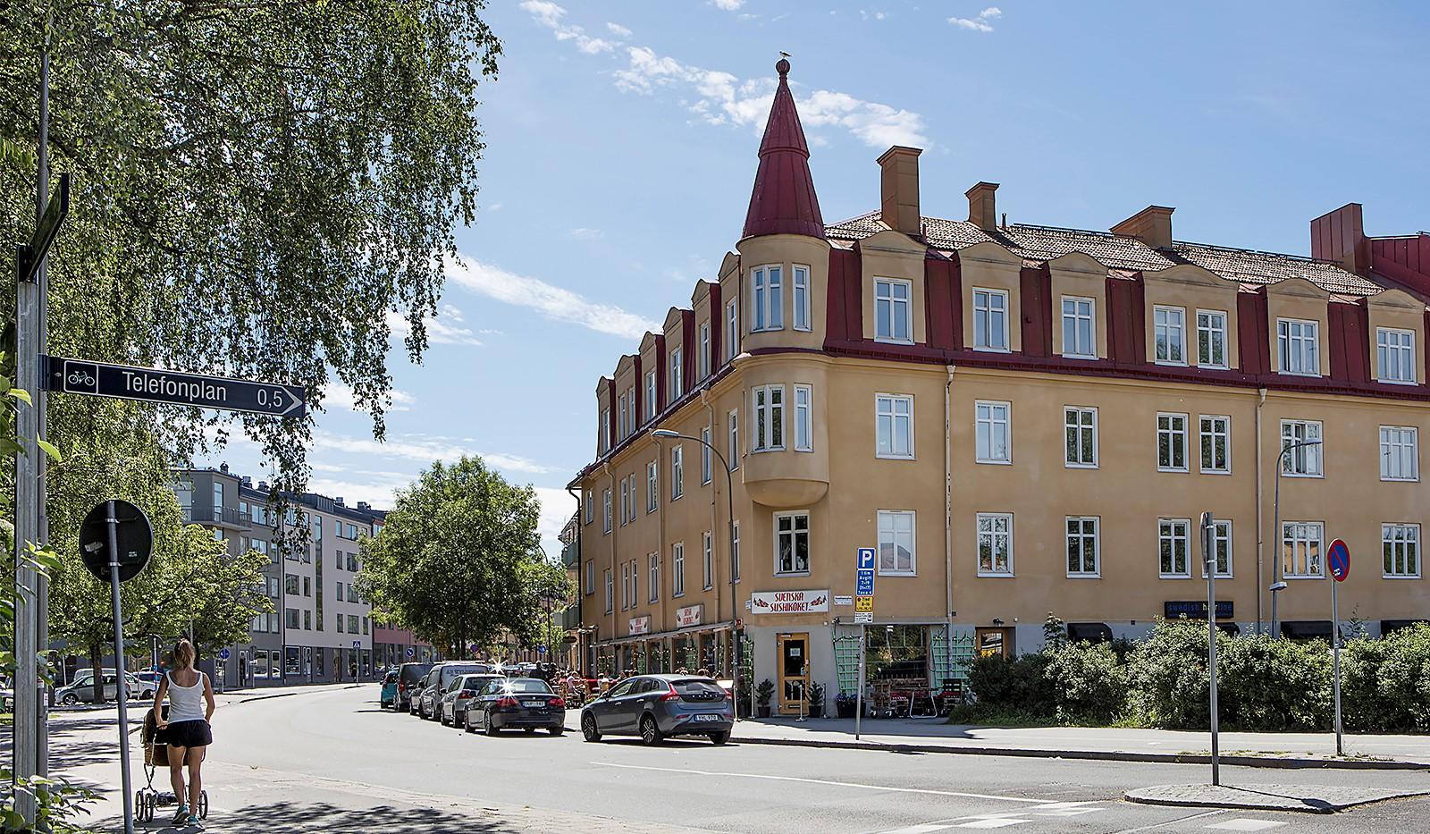 Oktavgatan 6 - Bo nära populära Svenska Sushi- och Hamburgerköket