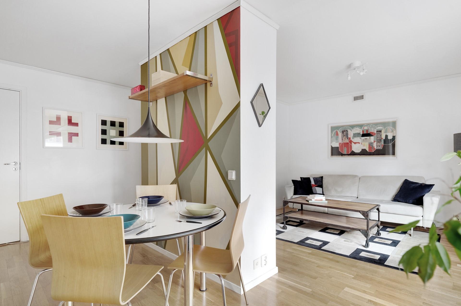 Fatburs Brunnsgata 31 - Öppet från kök mot vardagsrum