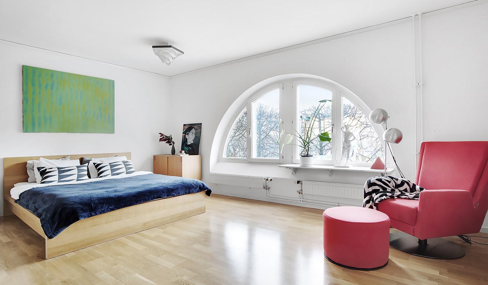 Fatburs Brunnsgata 31 - Stort sovrum