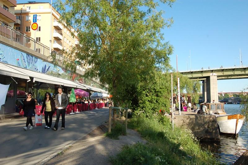 Heleneborgsgatan 12B - Hornstulls Streetmarket