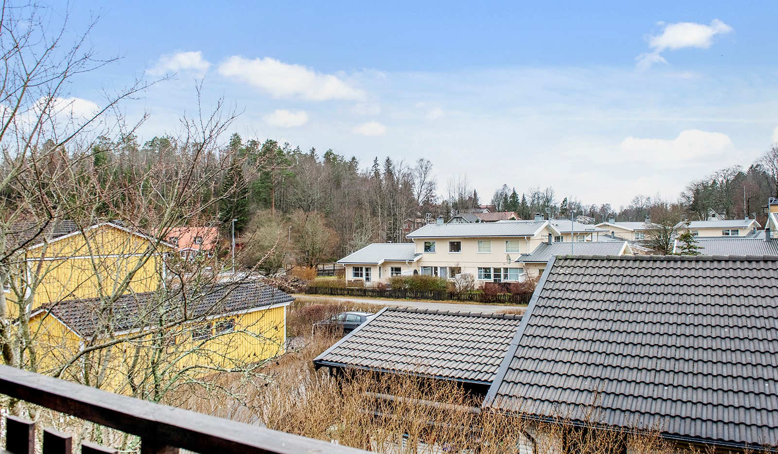 Stendalsvägen 10 - Utsikt från balkong