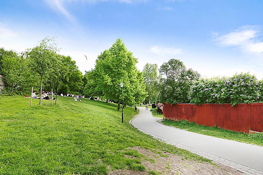 Åsögatan 185 - Vitabergsparken