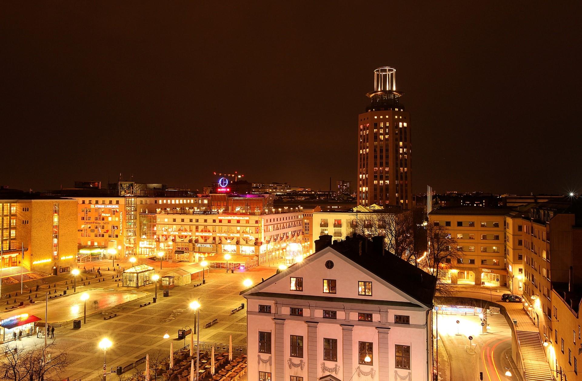 Skånegatan 59 - Kvällsvy över Medborgarplatsen