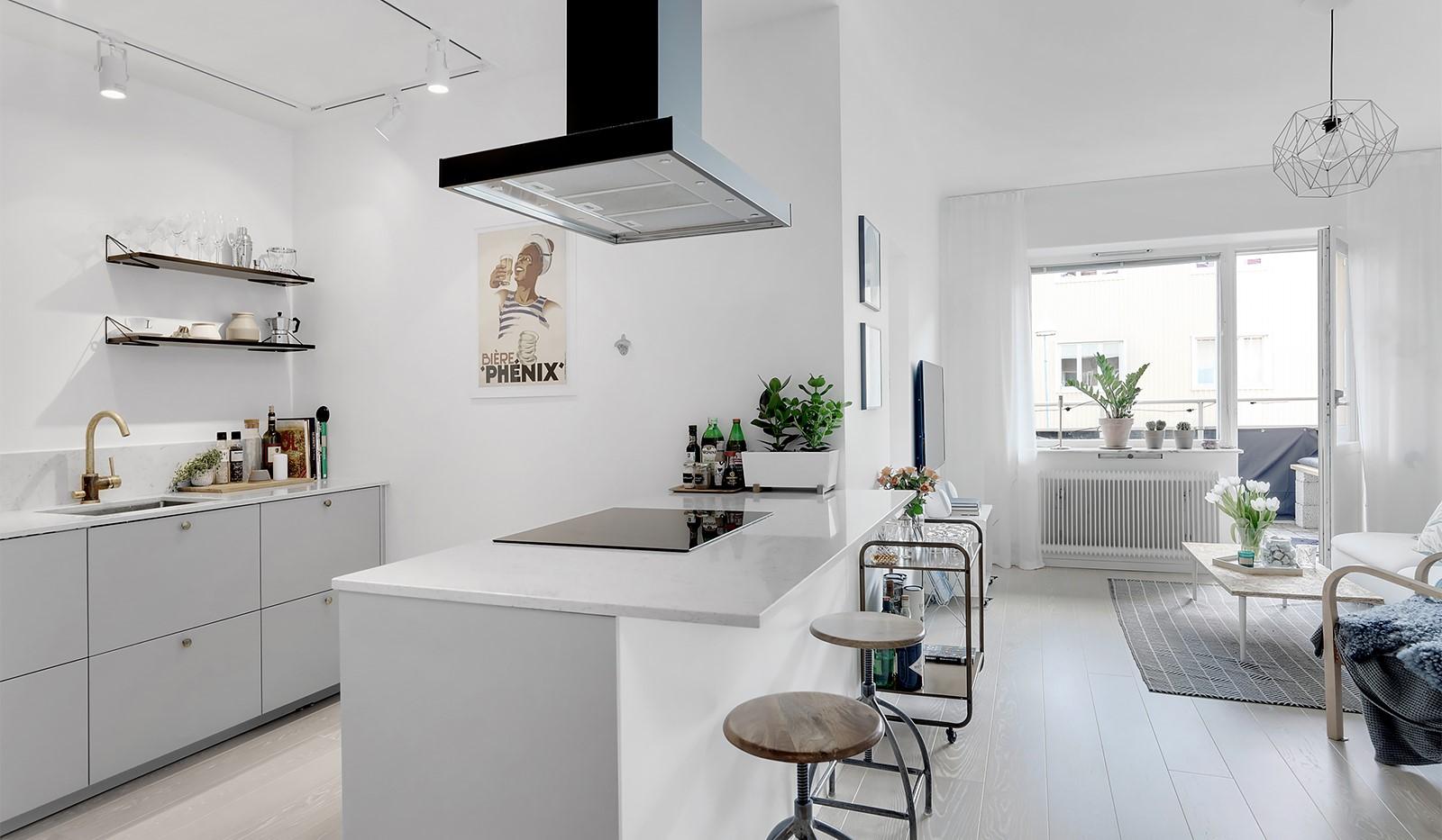 Råggatan 8, 1,5 tr - Öppen och social planlösning med snyggt renoverat kök