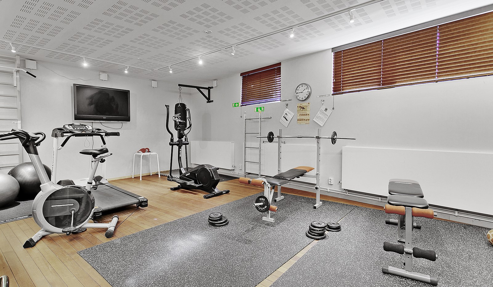 Sickla Kanalgata 64, vån 4 & 5 - Föreningens gym