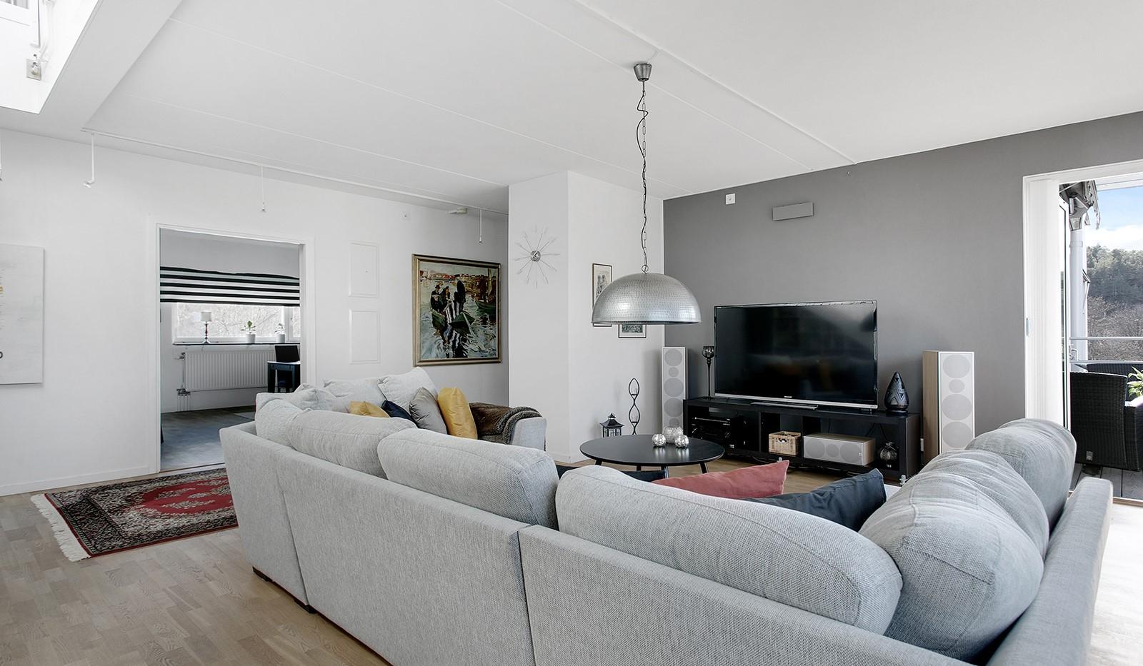 Sickla Kanalgata 64, vån 4 & 5 - Trevlig samlingsplats för familj och vänner
