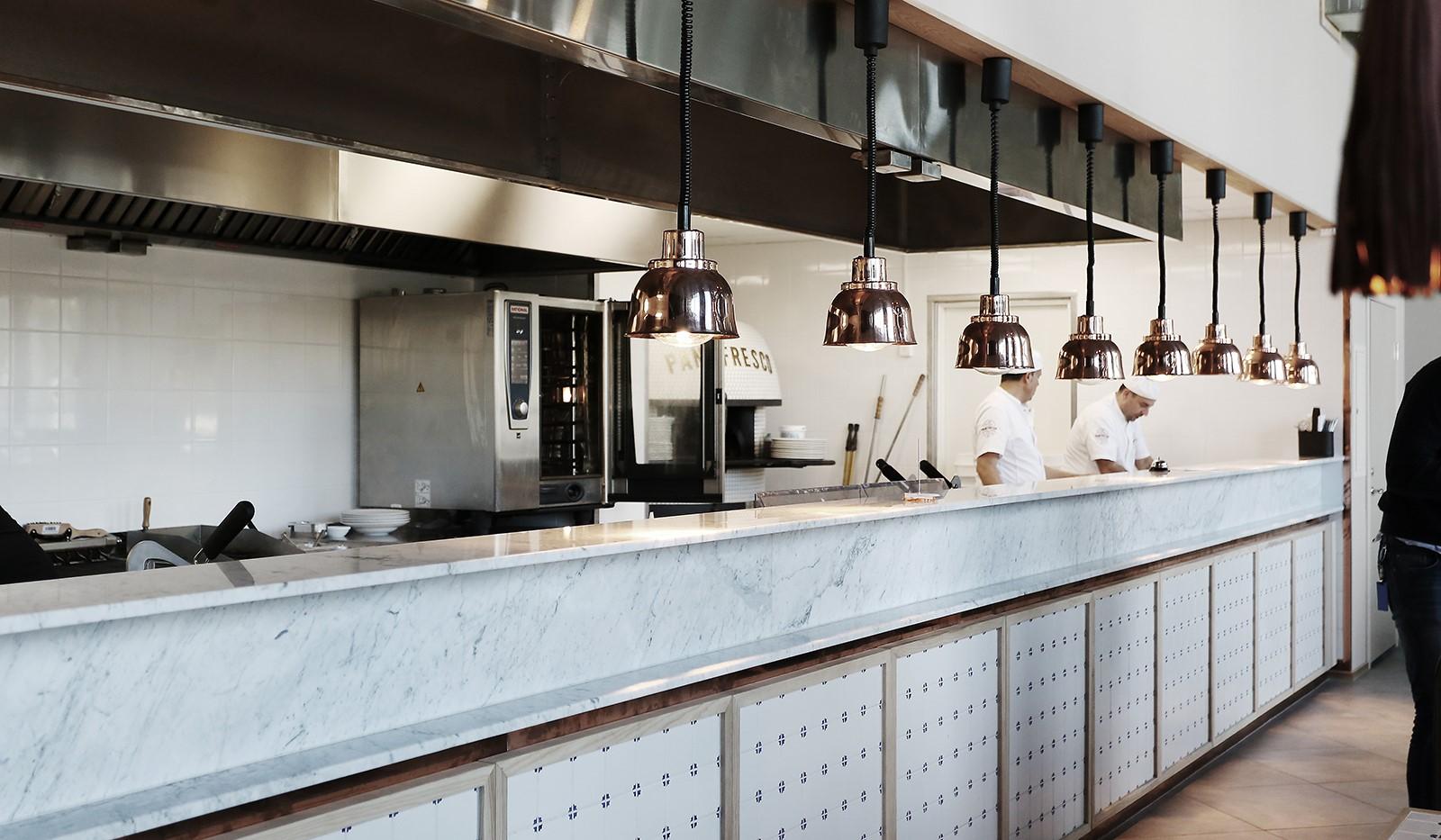 Fredriksdalsgatan 24, vån 6 - Restaurangen Pane Fresco vid kajen är värt ett besök