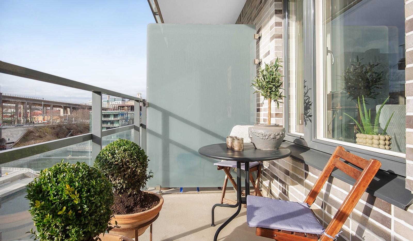 Fredriksdalsgatan 24, vån 6 - Stor balkong i soligt västerläge
