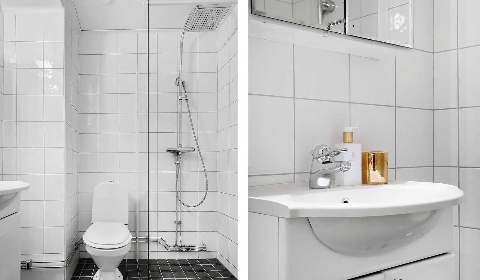 Timmermansgatan 33 - Helkaklat badrum