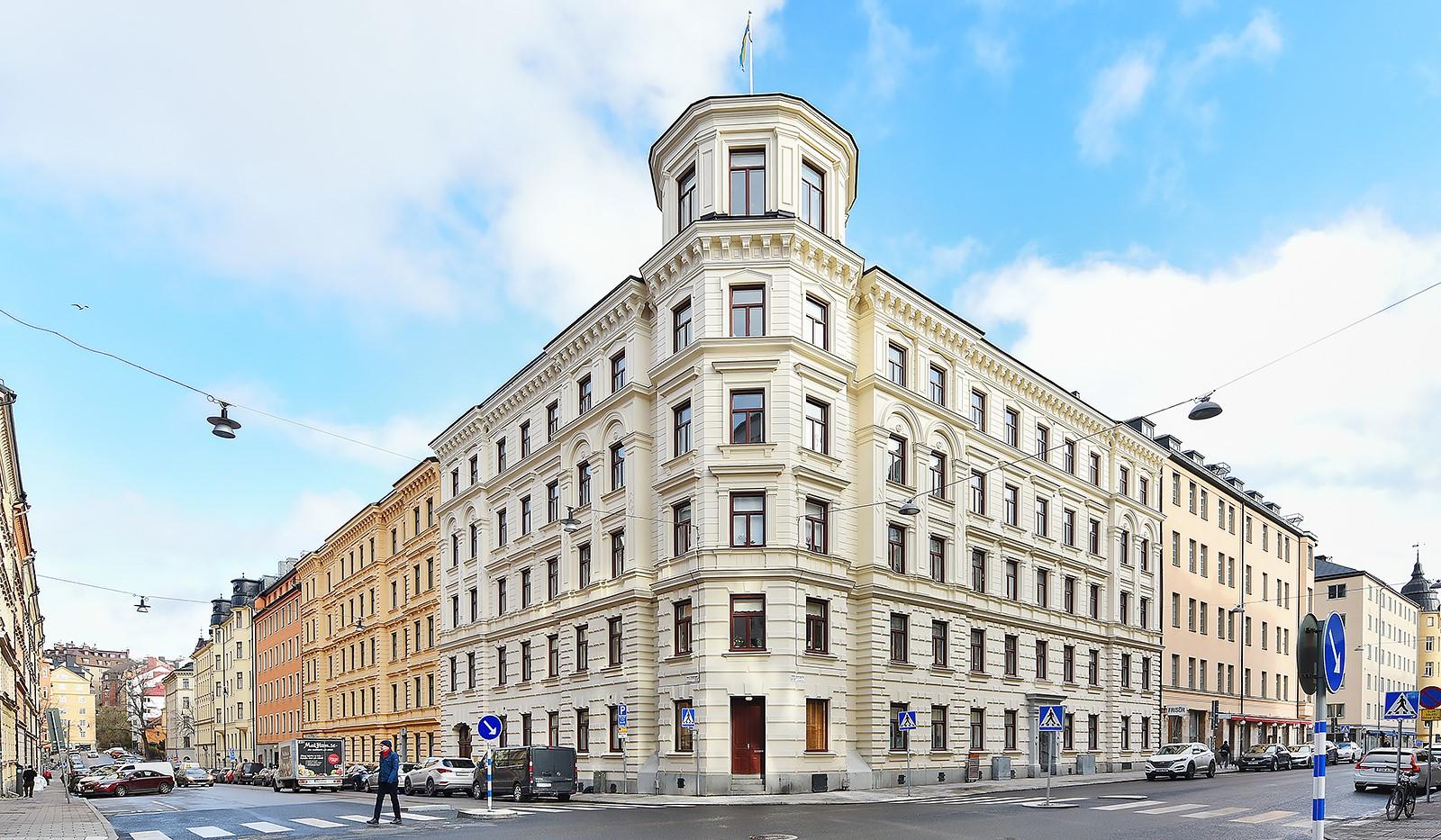 Timmermansgatan 33 - Timmermansgatan - Maria Prästgårdsgata