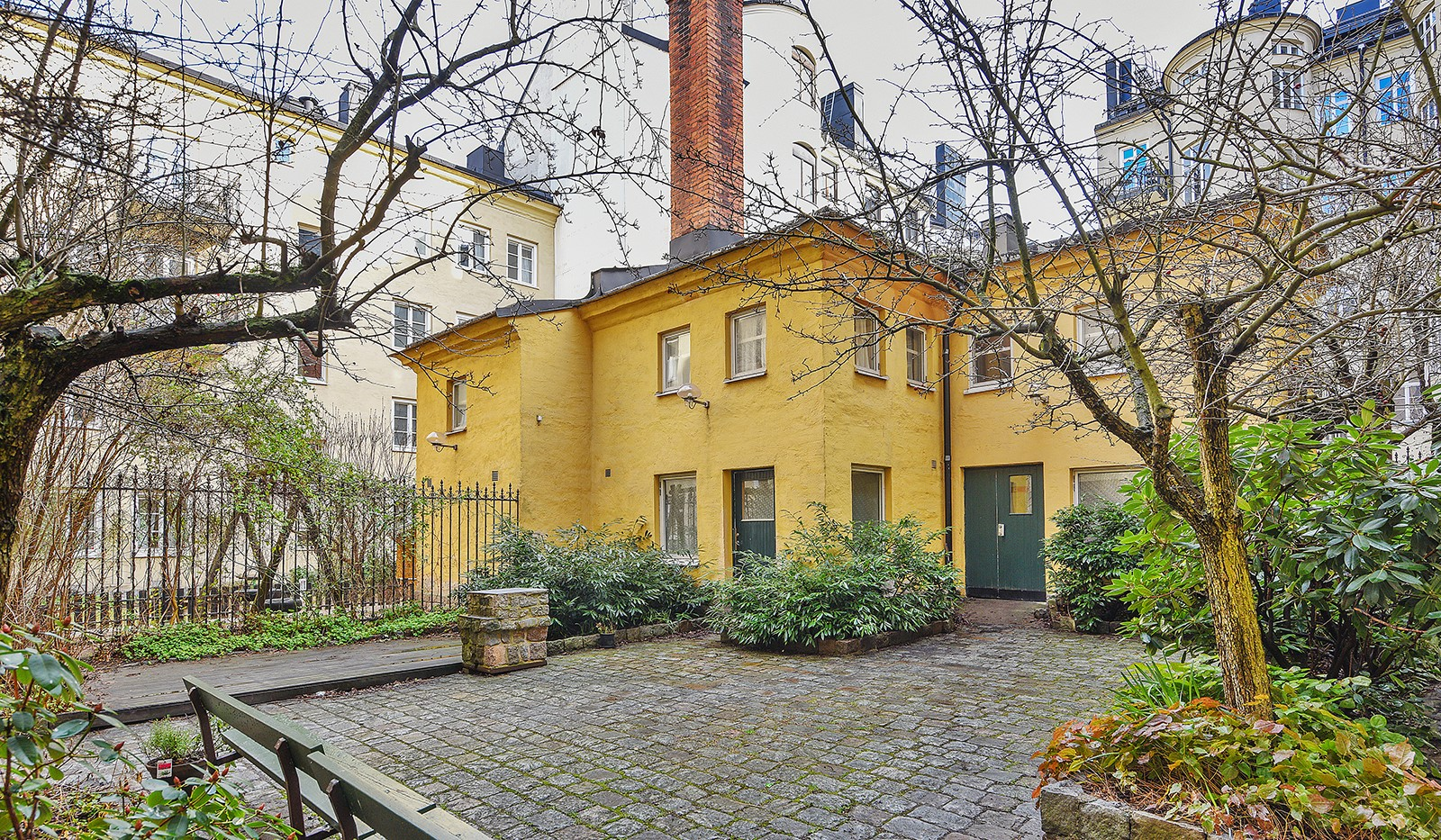 Timmermansgatan 33 - Gårdshus - bastu festlokal tvättstuga