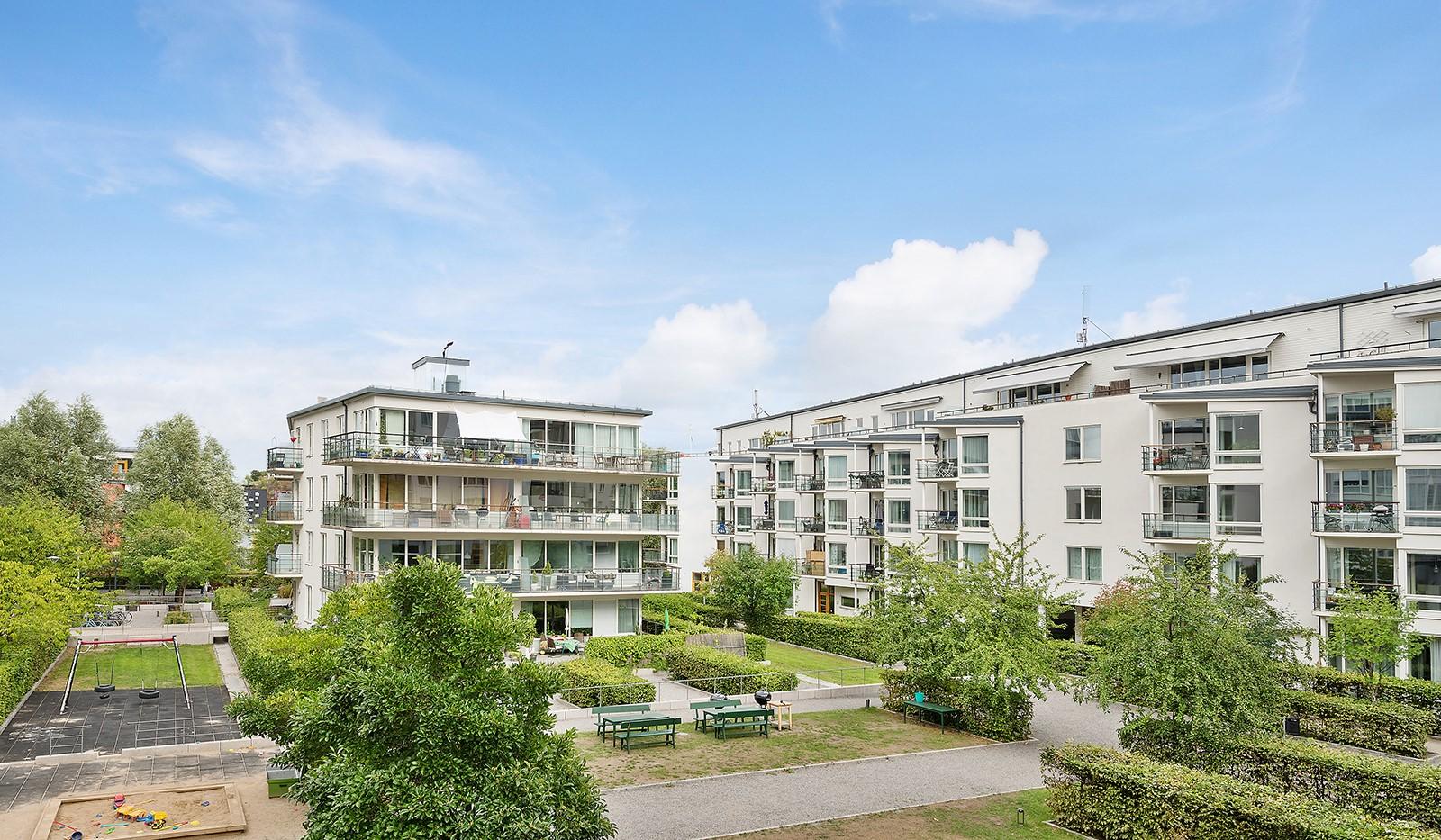 Babordsgatan 5, vån 3 - Föreningens innergård