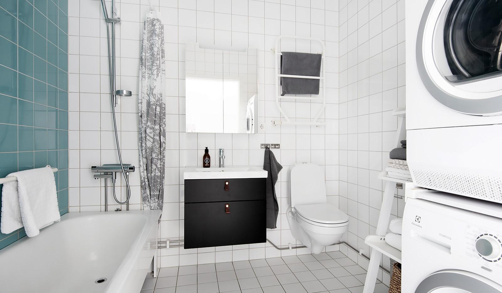 Babordsgatan 5, vån 3 - Stilrent och välutrustat badrum