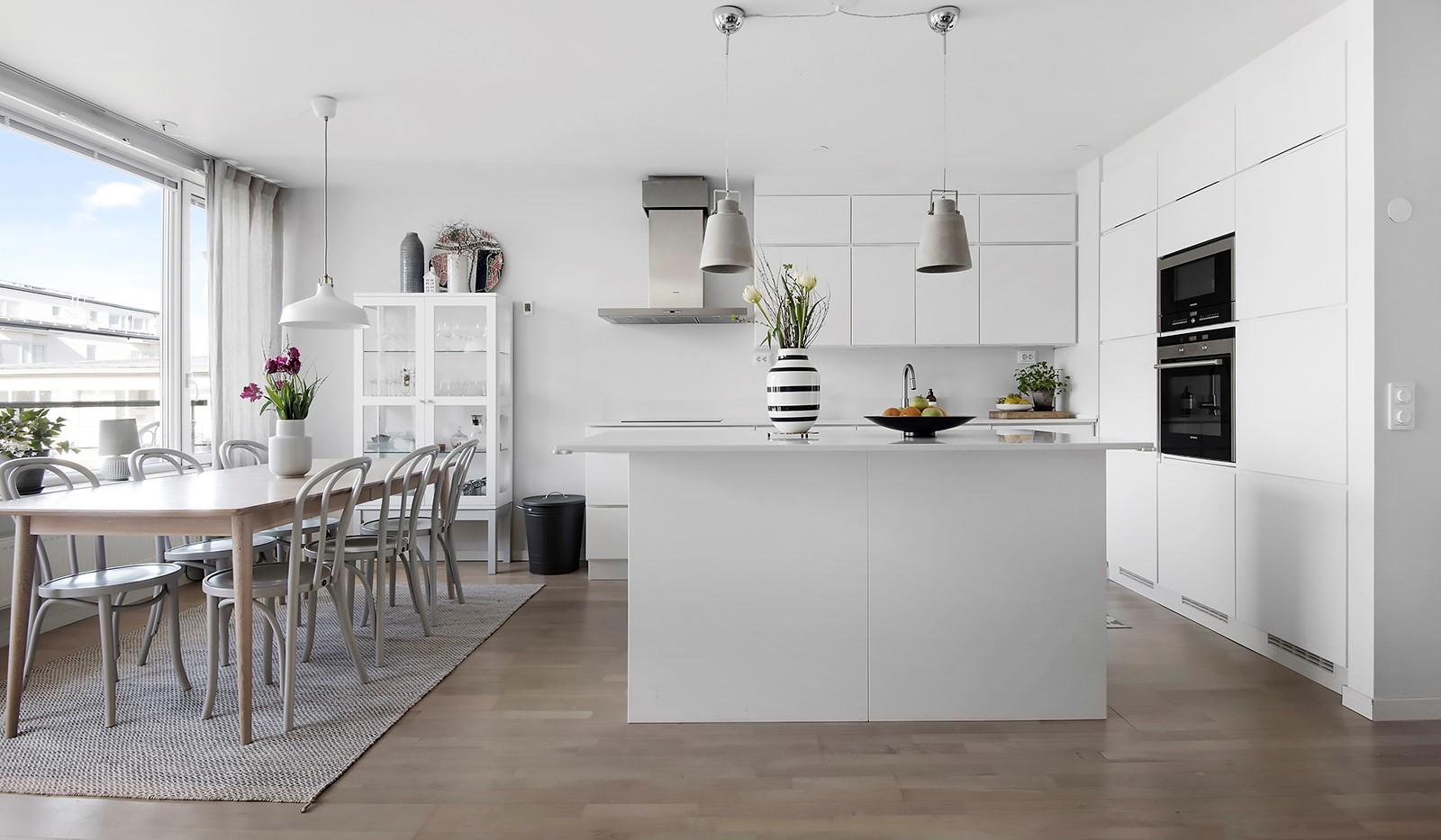 Babordsgatan 5, vån 3 - Stilrent kök från Kvik