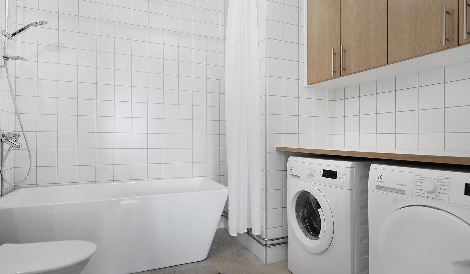 Hildebergsvägen 18, 4 tr - Tvättdel med tvättmaskin och torktumlare