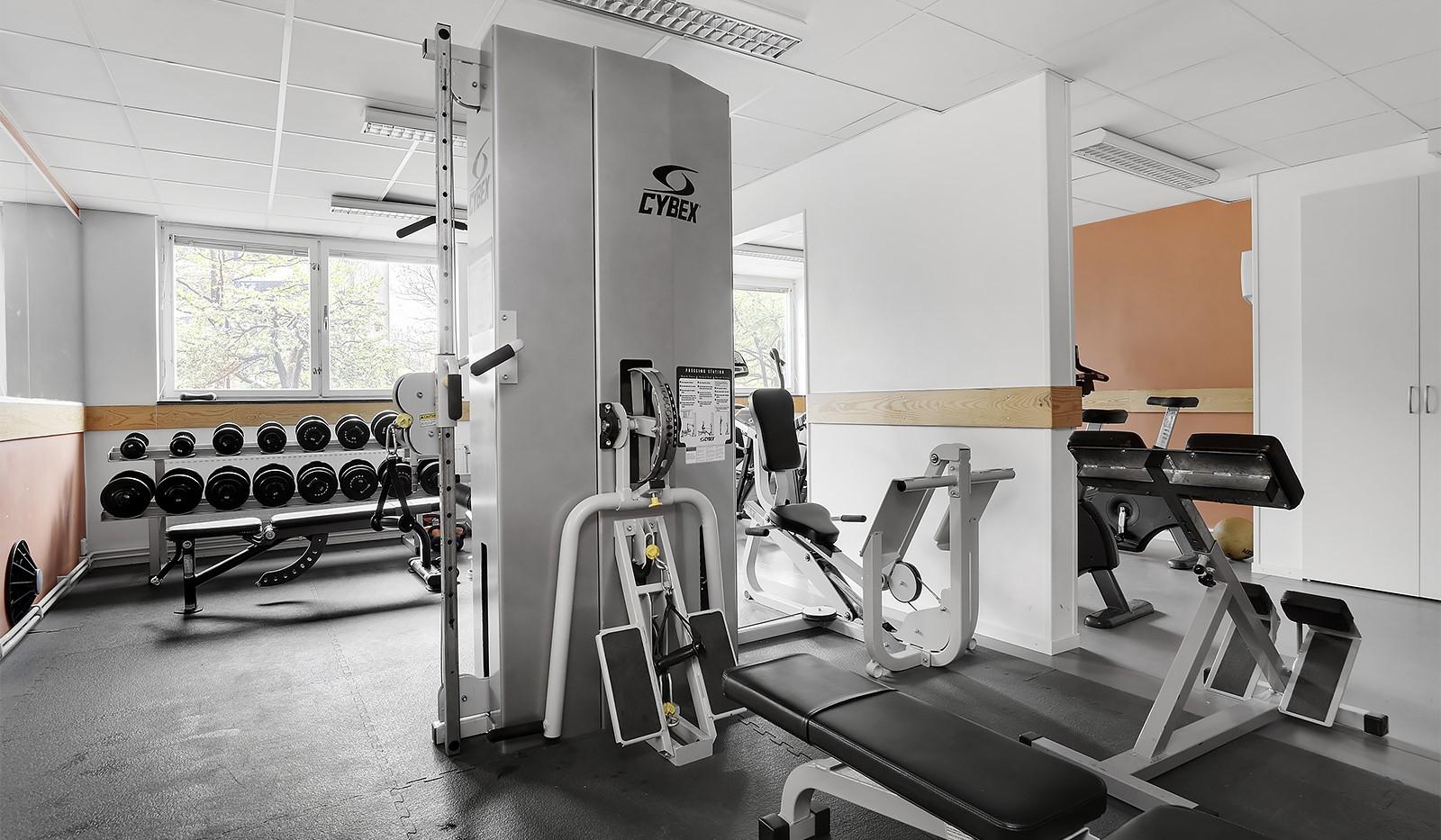 Flintbacken 10, 6 tr - Föreningens gym