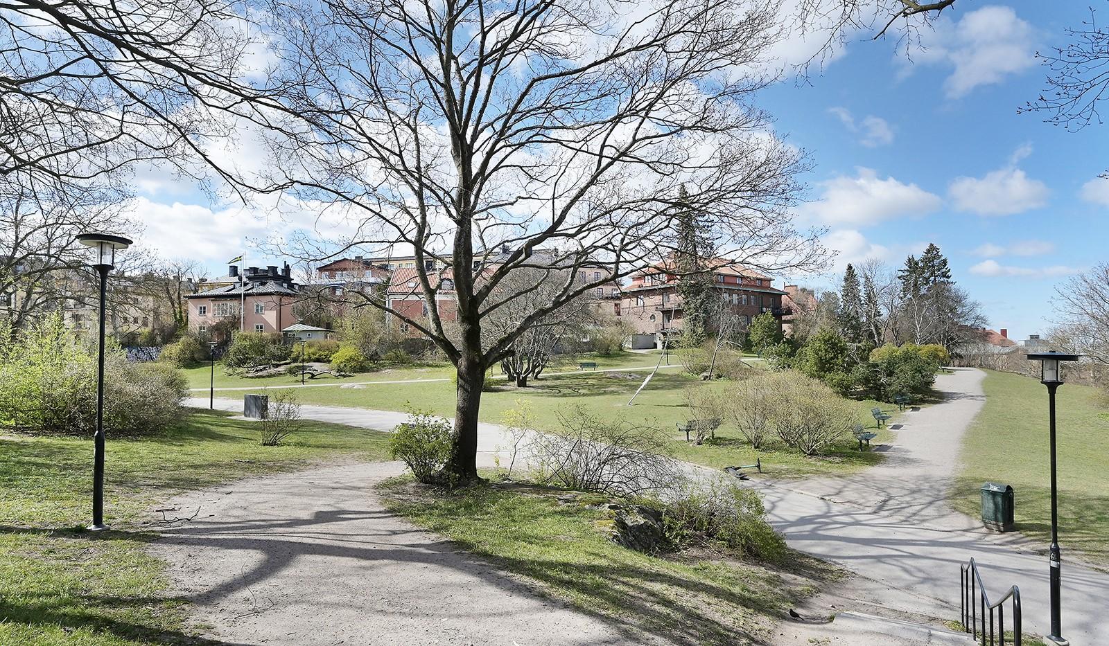Lundagatan 44B, 2 tr - Skinnarviksparken