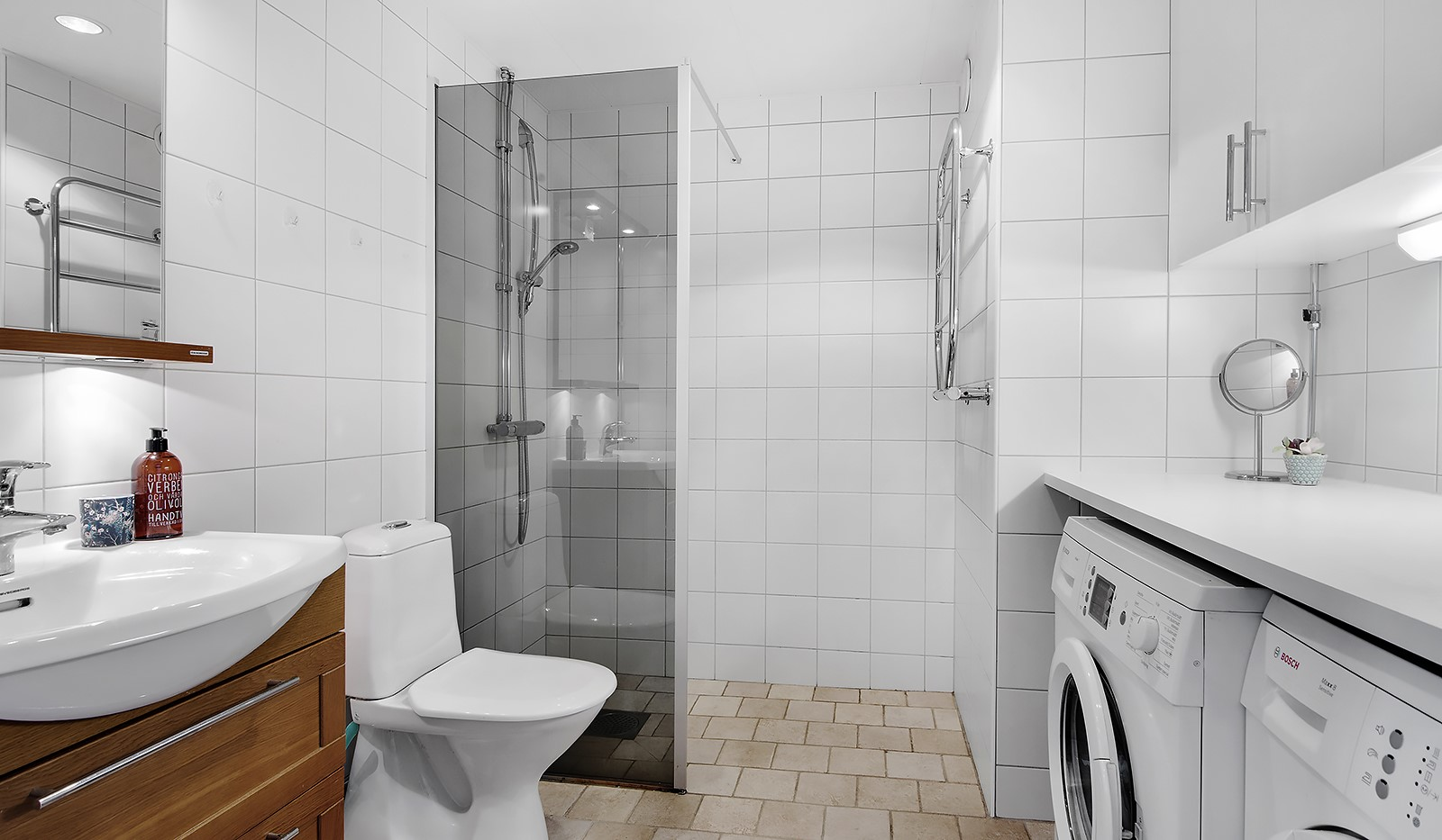 Sjöviksvägen 37, 5 tr - Fräscht badrum
