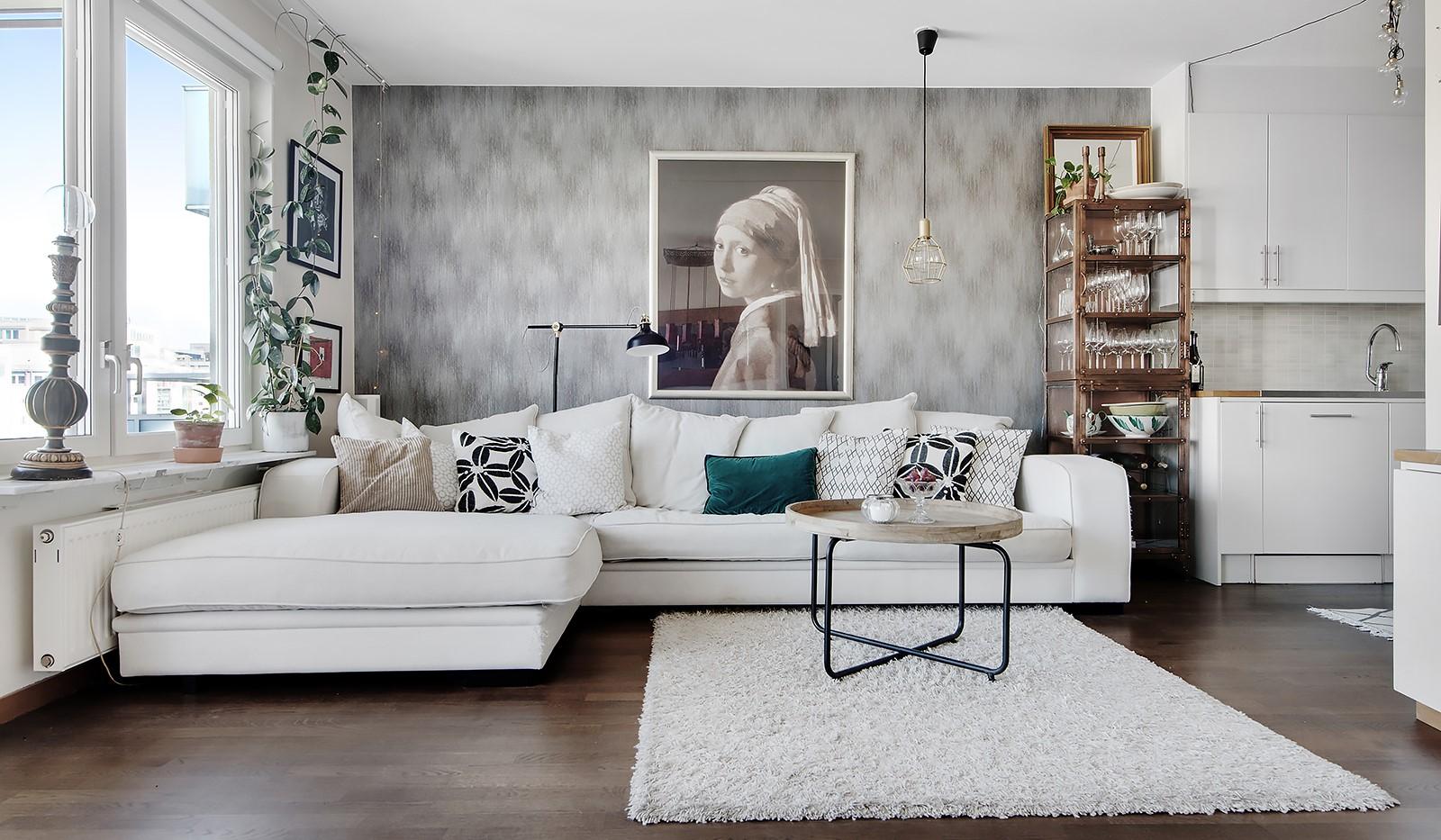 Sjöviksvägen 37, 5 tr - Plats för stor soffa