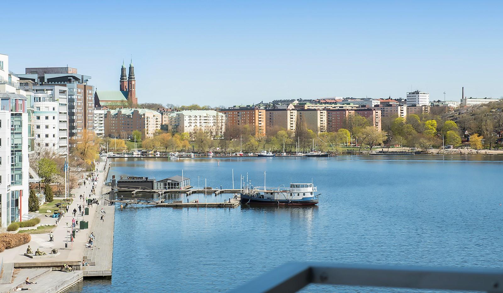 Sjöviksvägen 37, 5 tr - Liljeholmskajen