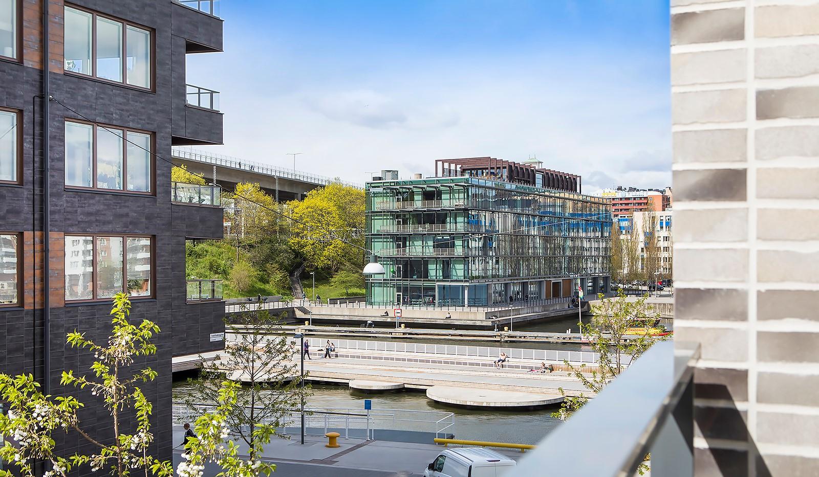 Fredriksdalsgatan 24, vån 2 - Härlig vattenkontakt med utsikt över Hammarby Kanal