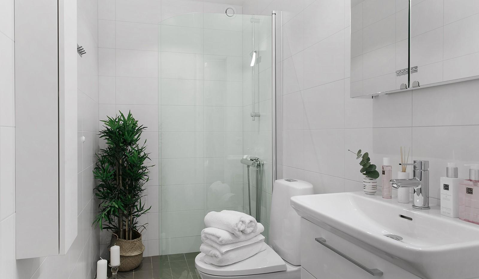 Oskarslundsbacken 13, 2tr - Stilrent och fullt utrustat badrum