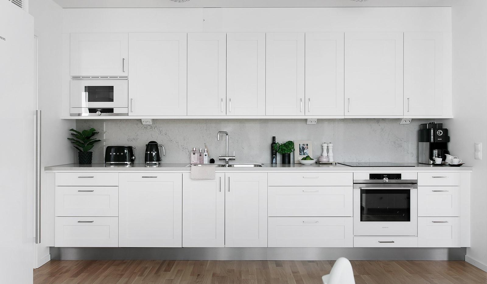 Oskarslundsbacken 13, 2tr - Stilrent kök med bra arbetsytor