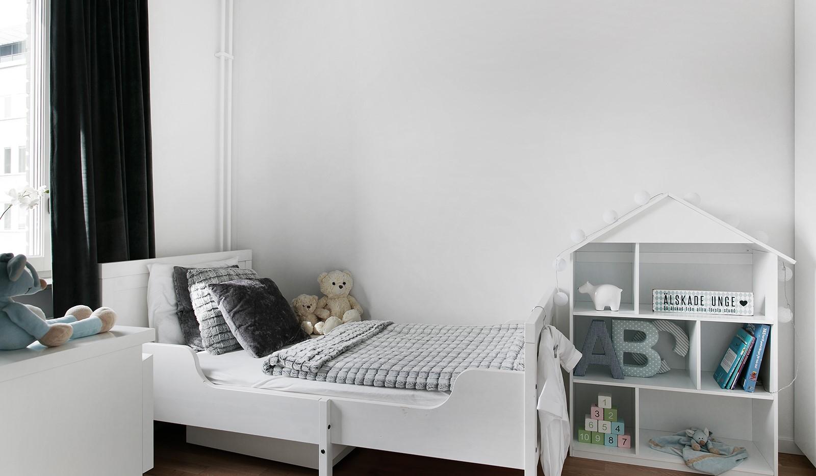 Oskarslundsbacken 13, 2tr - Bostadens tredje sovrum är perfekt som barnrum