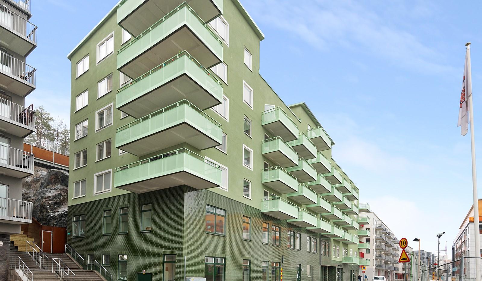 Sjöviksvägen 114, 5 tr - Fasad