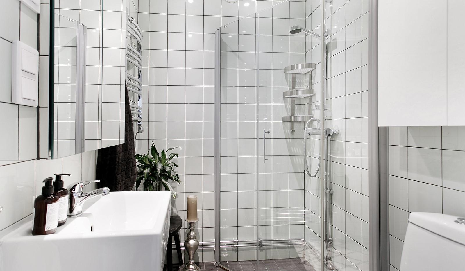 Maria Prästgårdsgata 39, 1tr - Stilrent renoverat badrum