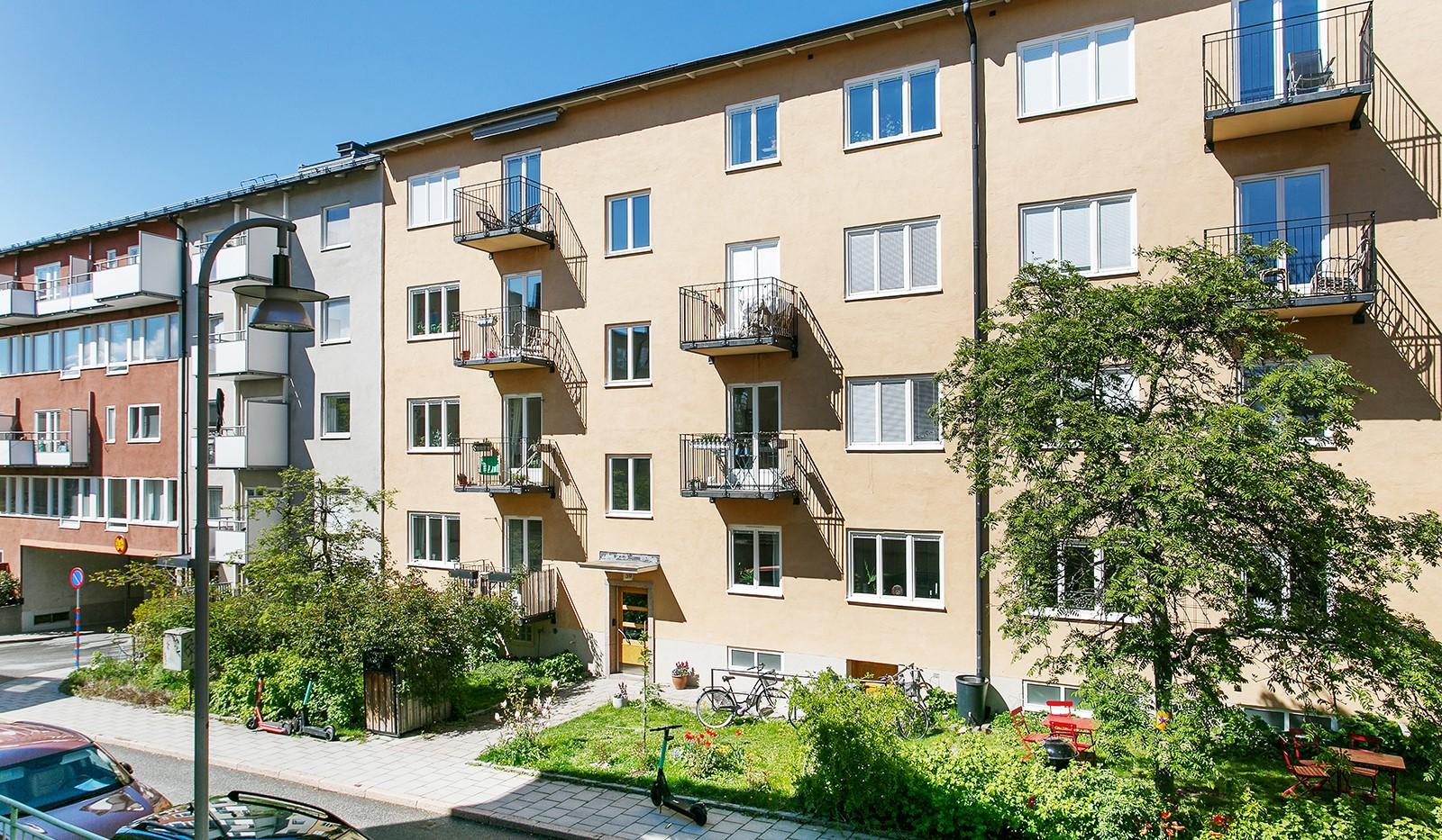 Maria Prästgårdsgata 39, 1tr - Välkommen till Maria Prästgårdsgata 39