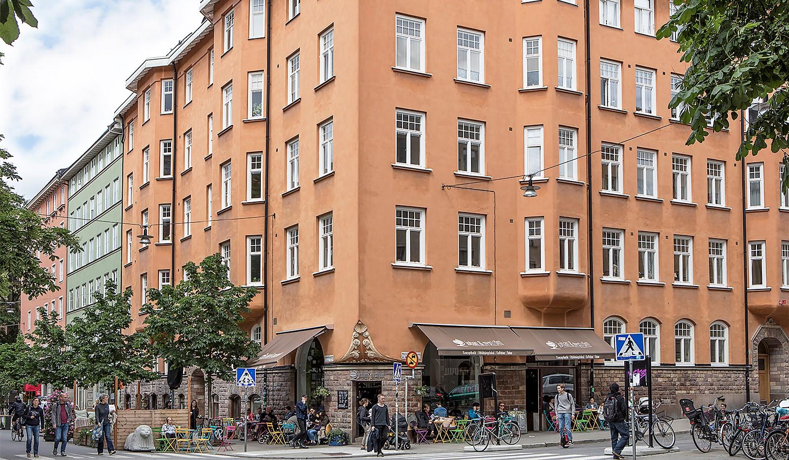 Maria Prästgårdsgata 39, 1tr - Områdesbild