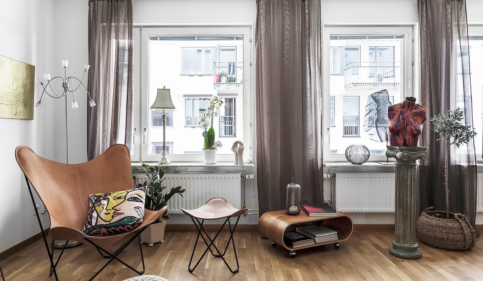 Vinodlargatan 7, 1tr - Härligt ljusinsläpp i vardagsrummet