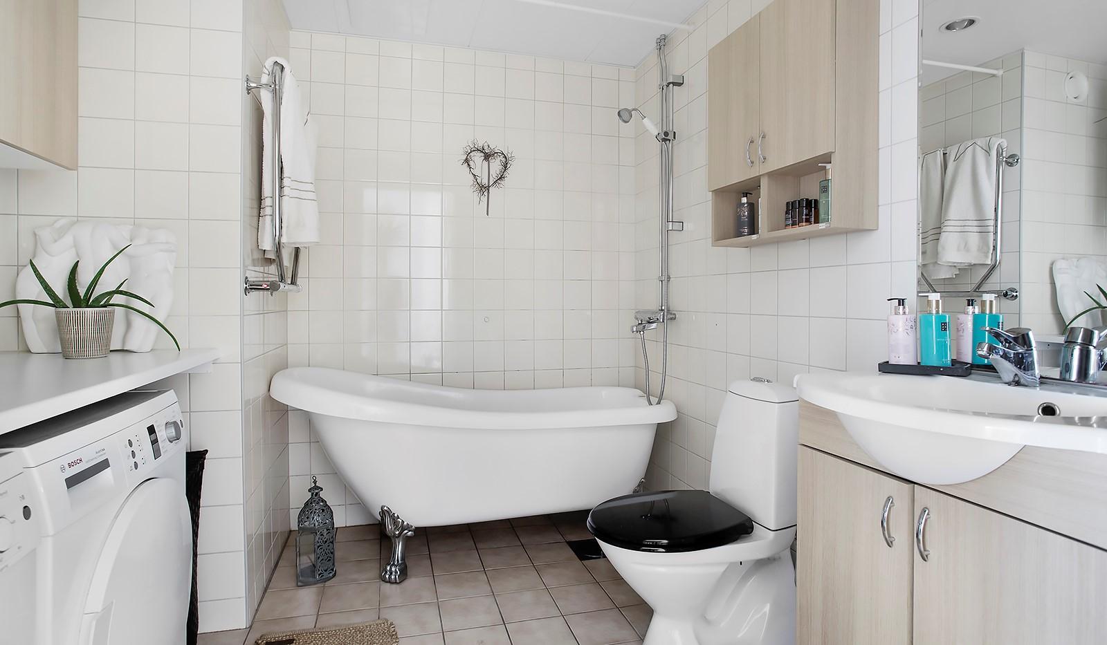 Vinodlargatan 7, 1tr - Stilrent och fullt utrustat badrum