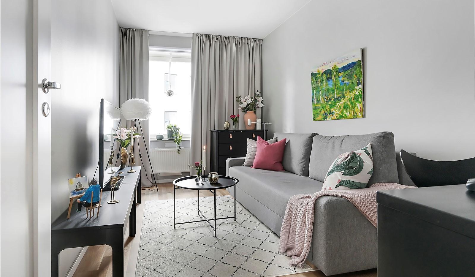 Sjöviksbacken 18, 4 tr - Rymligt sovrum som man kan ha som barnrum, gästrum eller kontor