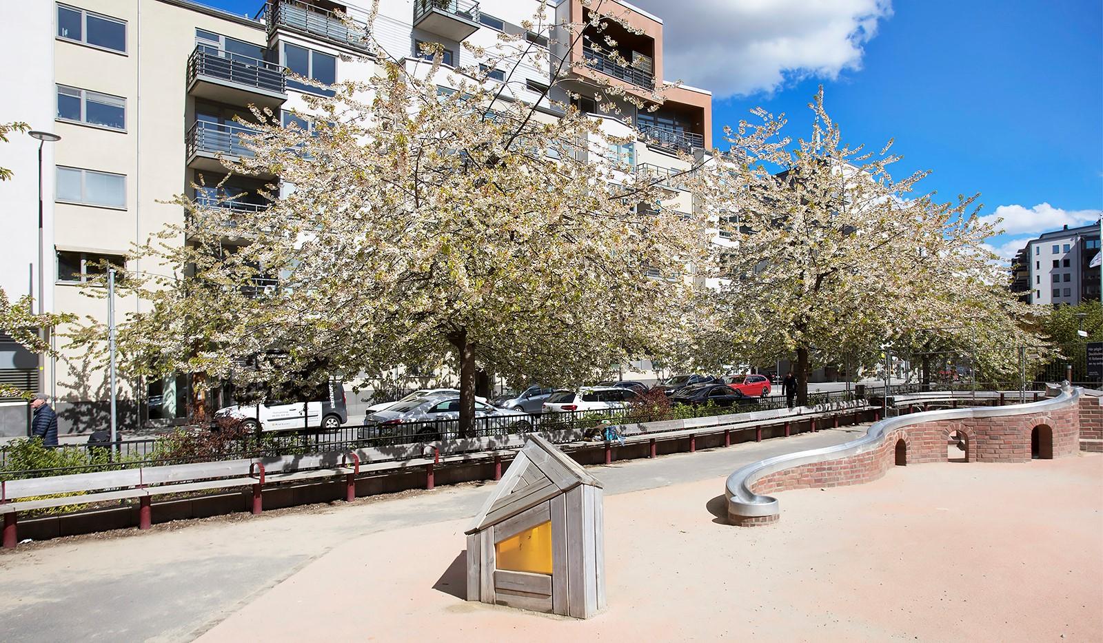 Grönbrinksgatan 10, 5 tr - Trevliga Fredsborgsparken