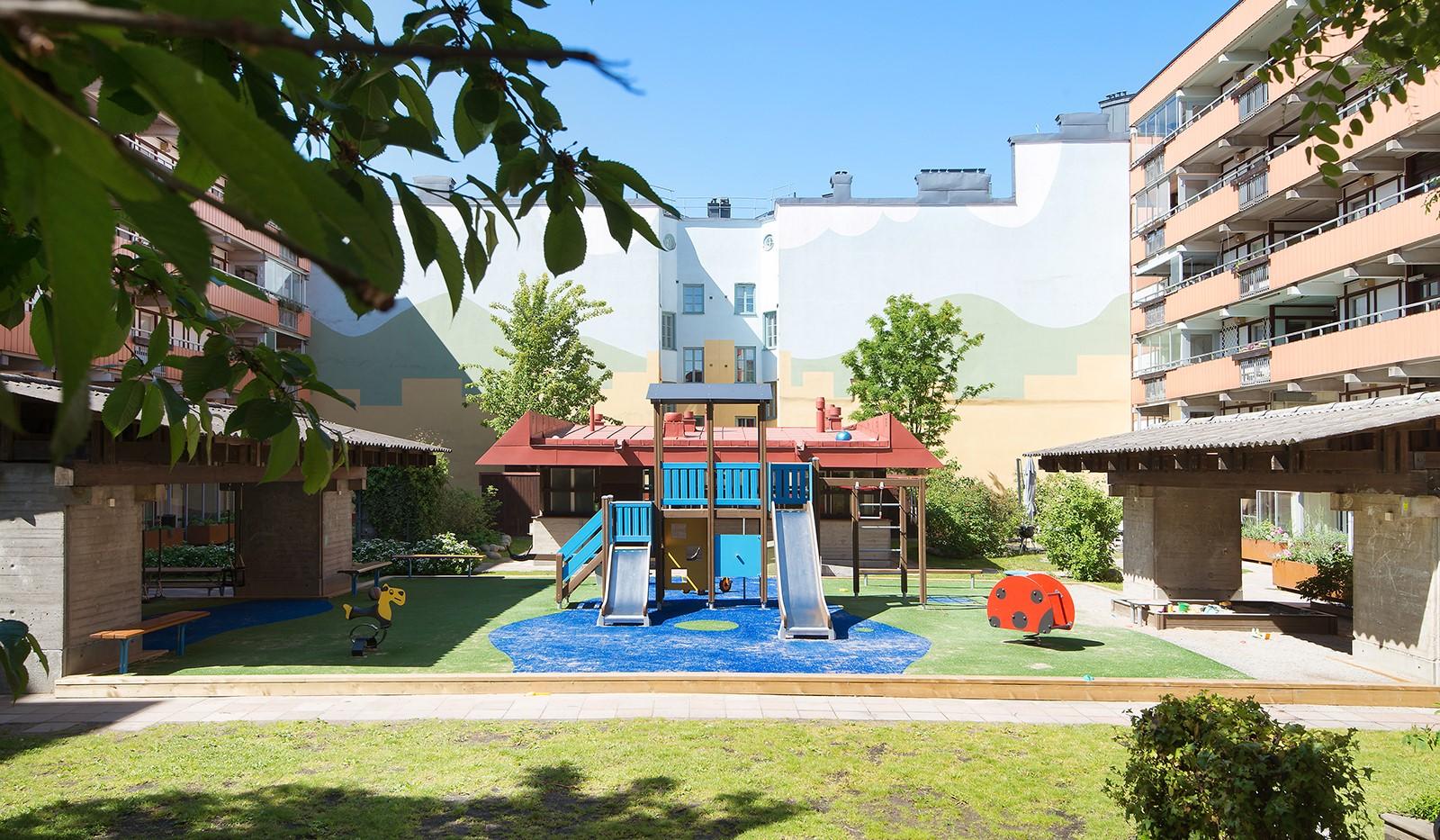 Kocksgatan 9, 5/5tr - Lekplatspalatset för barnen.