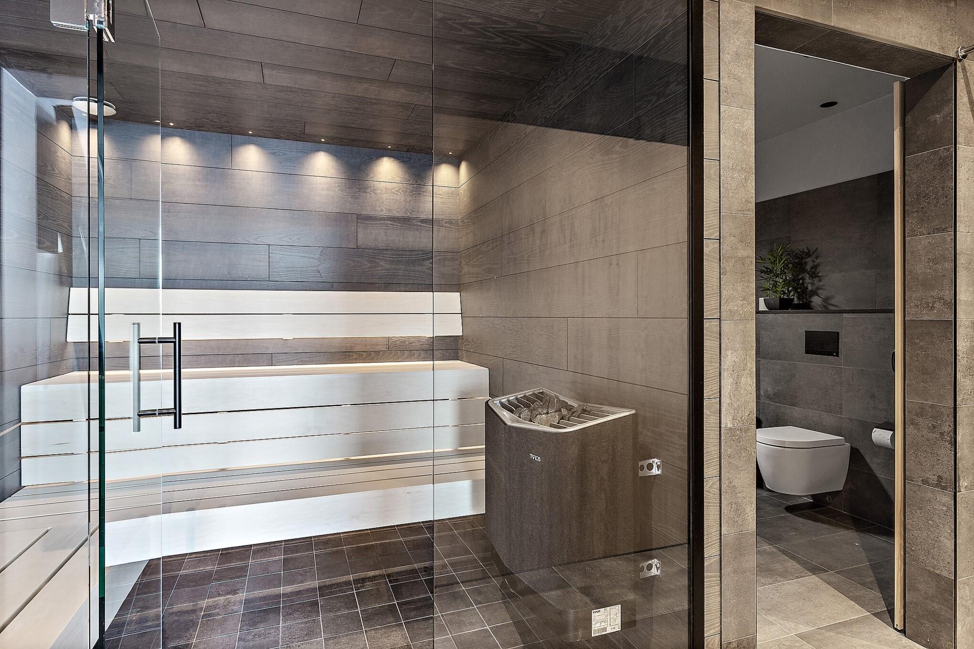 Ekfatsgatan 6 - Bastu, wc och dusch finns i föreningens lokal