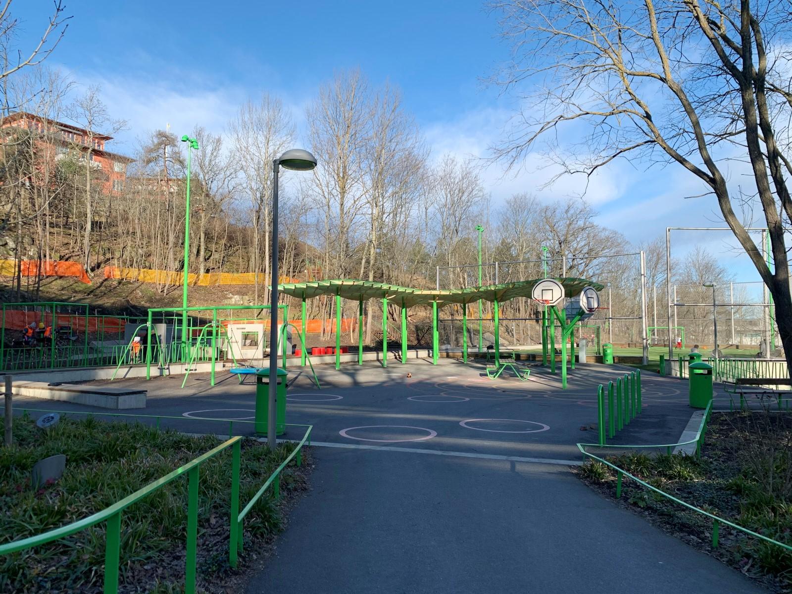 Ekfatsgatan 6 - Årstabergsparken.