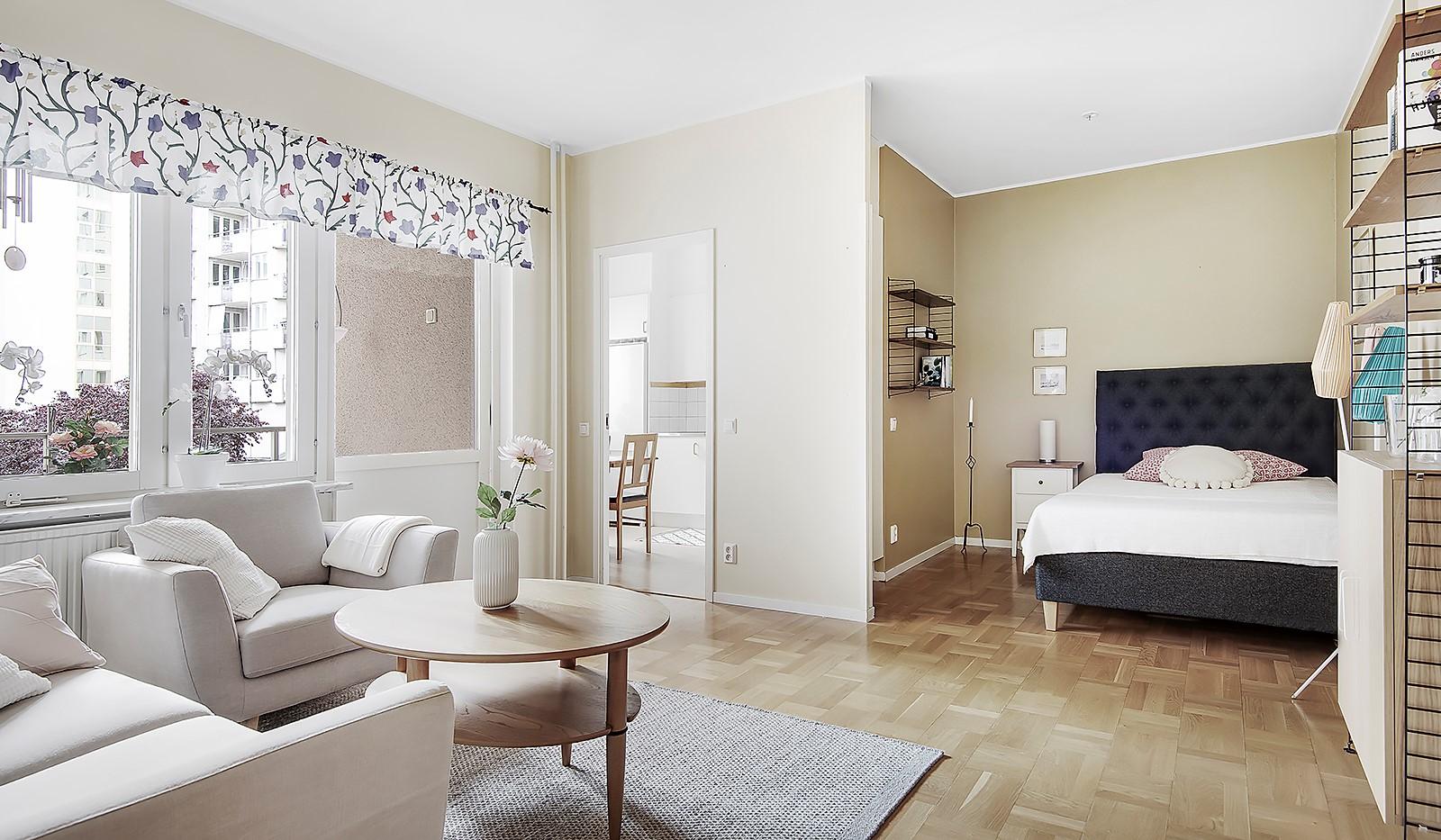 Fatburs Kvarngata 28 - Utrymme för en bred säng
