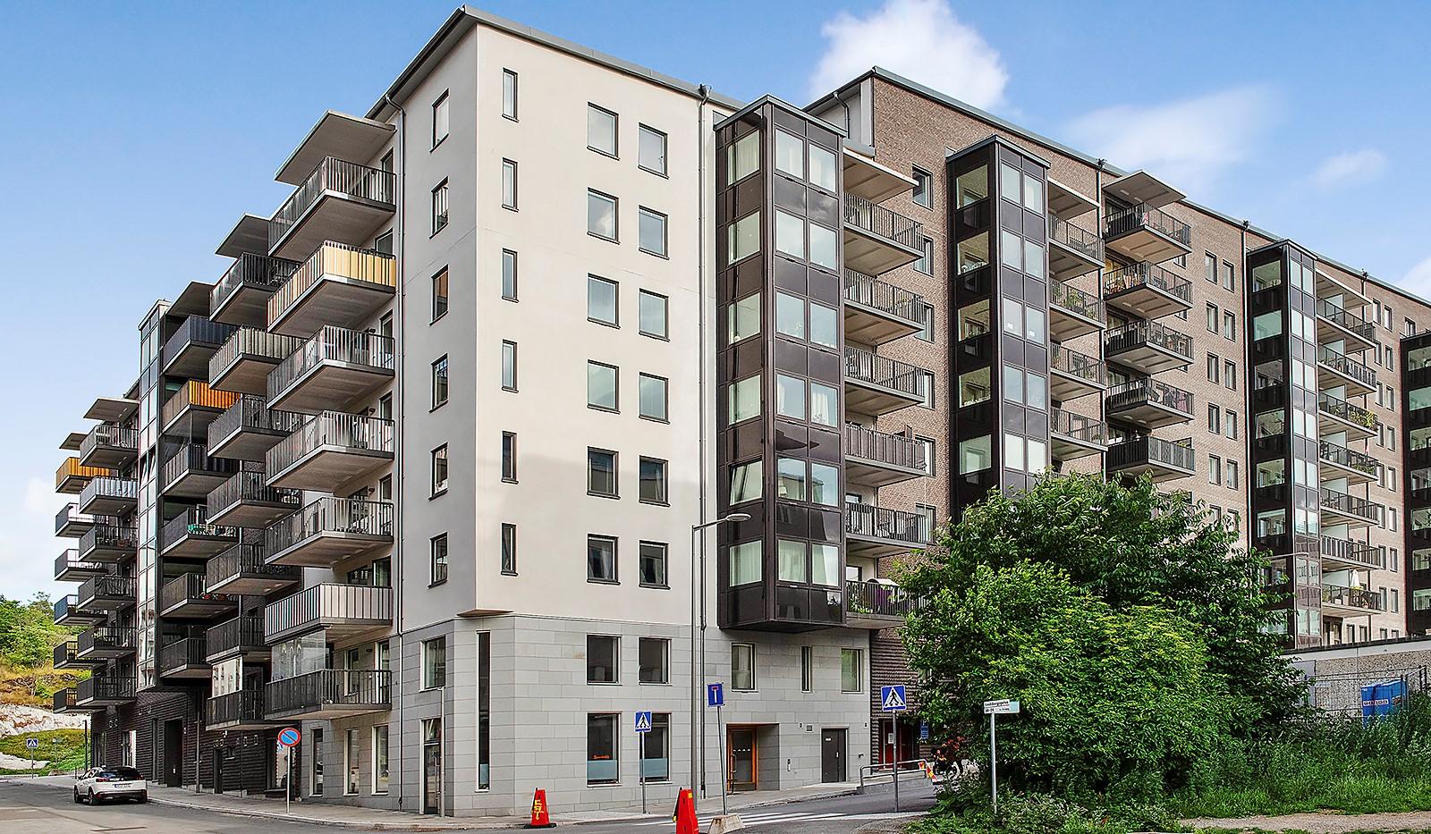 Oskarslundsbacken 1, 2tr - Fin ny fastighet i Liljeholmskajen