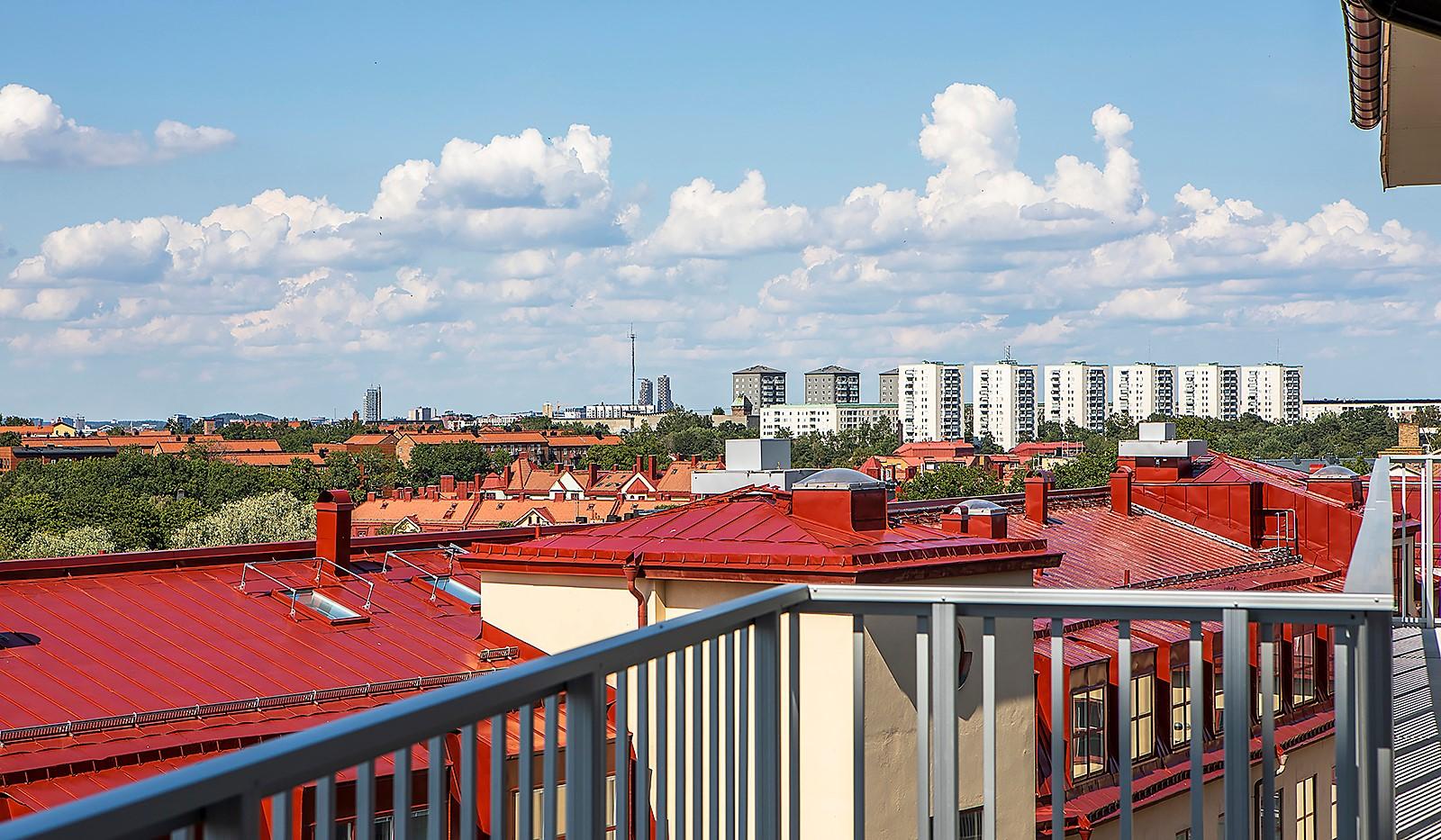 Radiusbacken 39, 5 tr - loftgang