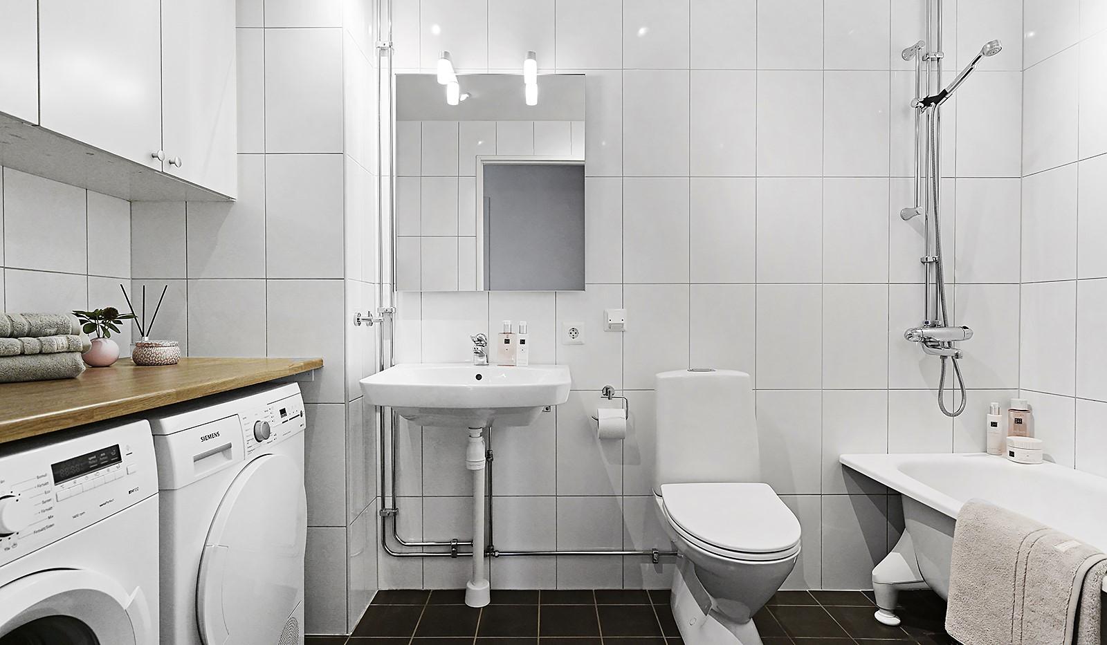 Grönbrinksgatan 8, 6 tr - Stilrent och fullt utrustat badrum
